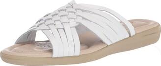 Softspots Women's Aqua Loafer Flat