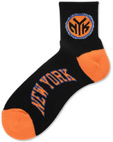 For Bare Feet New York Knicks Ankle TC 501 Medium Socks