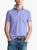 Ralph Lauren Polo Custom Slim Fit Mesh Polo Shirt