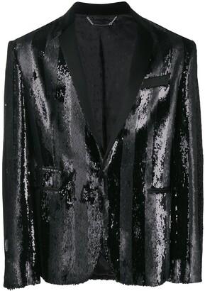 Philipp Plein 20th Anniversary blazer