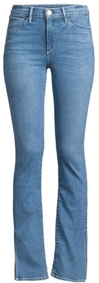 3x1 Split Hem High-Rise Flared Jeans