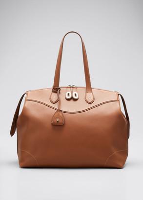 Ralph Lauren Collection Voyager Large Top Handle Satchel Bag