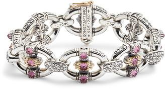 Konstantino Trillion Chain Link Stone Bracelet