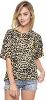 Juicy Couture Tangier Leopard Burnout Graphic Tee