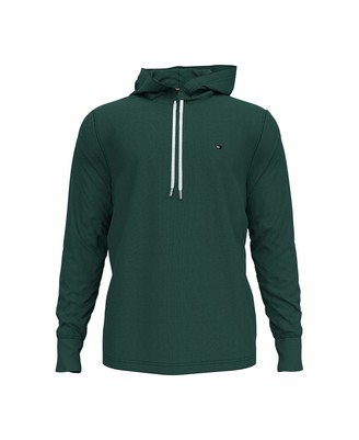 Tommy Hilfiger Men's Long Sleeve T Shirt with Hood