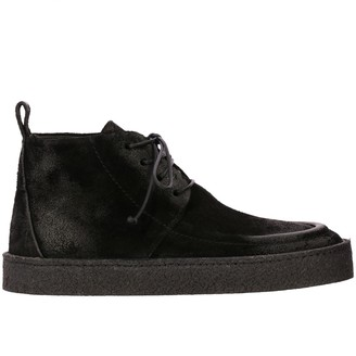 Marsèll Cassapara Chukka Boots In Suede With Rubber Sole