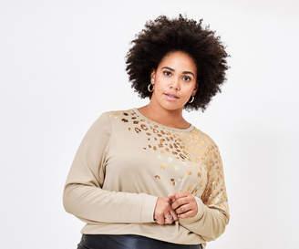 Oasis Curve Animal Sweater*