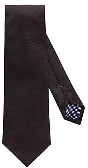 Eton Solid Textured Silk Classic Tie