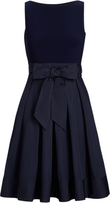 Ralph Lauren Sleeveless Taffeta Dress