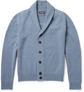 John Smedley - Patterson Shawl-collar Merino Wool And Cashmere-blend Cardigan