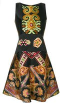 Etro paisley flared dress - women - Silk/Polyester/Viscose - 44