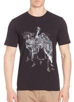 The Kooples Short Sleeve Cotton T-Shirt