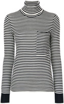 Joseph striped turtleneck sweater - women - Merino - S