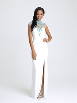 Madison James - 16-371 Dress in Ivory