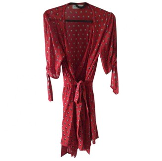 Faithfull The Brand \N Red Cotton Dress for Women