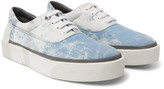 Lanvin - Tie-dyed Canvas Sneakers