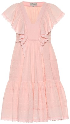 Temperley London Beaux broderie anglaise cotton dress