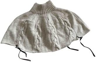 Bally Ecru Wool Jacket for Women