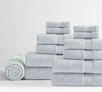 Pottery Barn PB Classic Organic Towel Bundle With Bath Mat - Set of 13