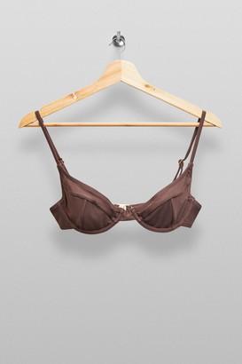 MinkPink Womens **Brown Bikini Top By Mink Pink - Cocoa
