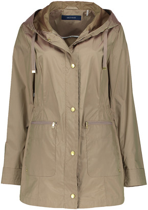 Cole Haan Women's Anoraks & Parkas CHAMPAGNE - Champagne Packable Hooded Jacket - Women