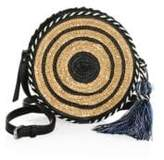 Rebecca Minkoff Straw Circle Crossbody