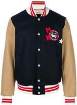 MAISON KITSUNÉ logo varsity jacket