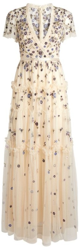 Needle & Thread Embroidered Prairie Flora Gown