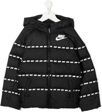 Nike Kids Striped Padded Jacket