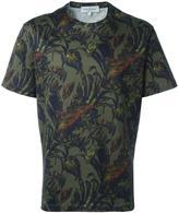 Salvatore Ferragamo foliage print T-shirt