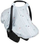 Bebe Au Lait Muslin Car Seat Cover in Little Owl