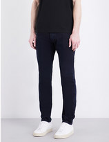 Givenchy Tie-waistband tapered slim-fit jeans