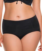 Dorina Black Fiji High-Waist Bikini Bottoms