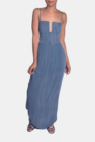 Sage Calm Waters Maxi Dress