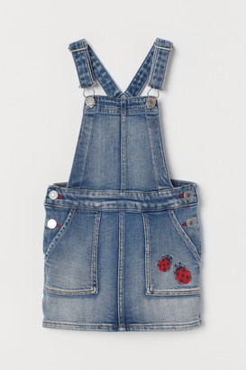 H&M Denim Overall Dress