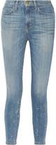 Current/Elliott The Stiletto high-rise skinny jeans