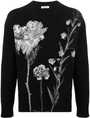 Valentino Floral Print Jumper