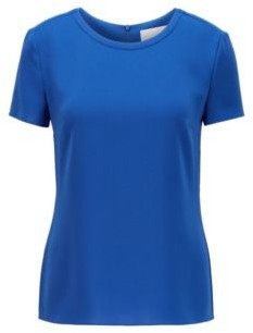 HUGO BOSS Gently tailored crepe top