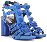 Balenciaga Giant leather sandals