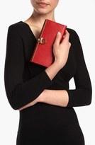 Salvatore Ferragamo Women's 'Icona' Leather Wallet - Red