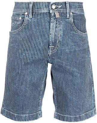 Jacob Cohen Pinstripe Shorts