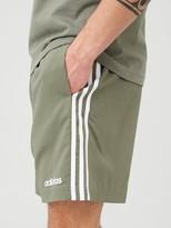 adidas 3 Stripe Linear Chelsea Short - Green