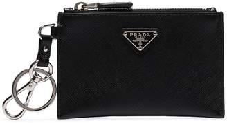 Prada keychain coin purse
