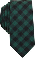 Bar III Men's Hawkins Check Slim Tie, Only at Macy's