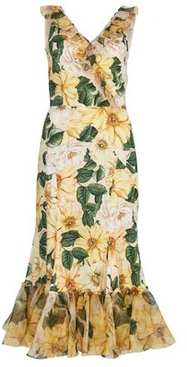 Dolce & Gabbana Camelia dress