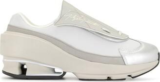 Y-3 Panelled Slip-On Sneakers