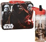 Star Wars Metal Lunch Box With Puzzle