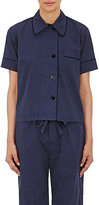 Araks Women's Shelby Short-Sleeve Pajama Top-NAVY