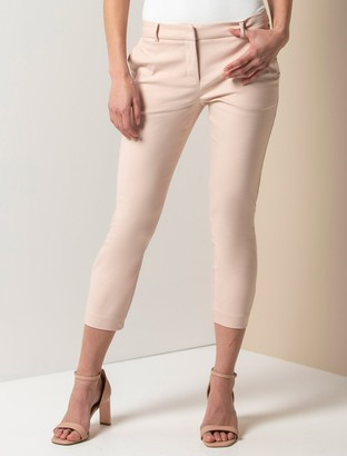 Forever New Mindy Petite 7/8 Slim Pants - Pink - 10