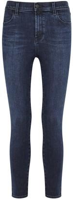 J Brand Alana Dark Blue Skinny Jeans
